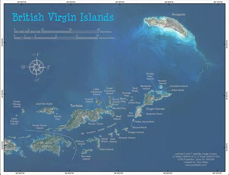 british virgin islands map location british virgin islands map
