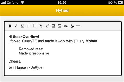 jquery design editor how to create simple jquery text editor stack overflow