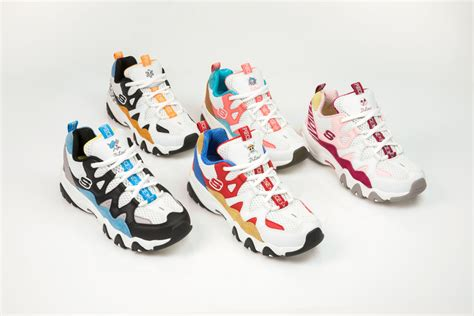 Skechers X One by Skechers X One Line Makes Tracks To Noram