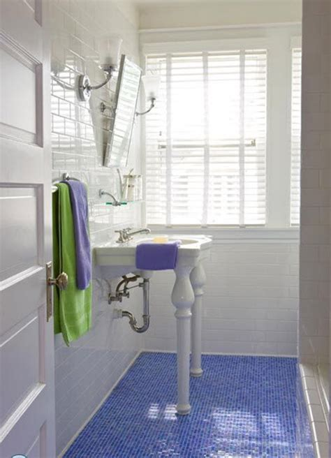 blue tile floor bathroom 40 blue bathroom floor tile ideas and pictures