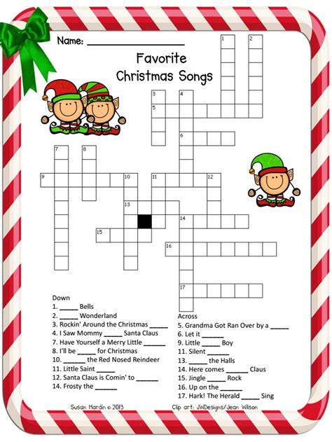 printable holiday puzzle printable holiday crossword search results calendar 2015