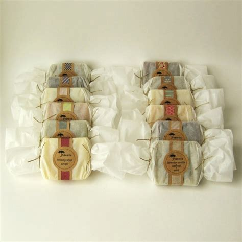 Handmade Soap Wrappers - gift packaging ideas packaging soap bars