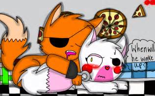 Foxy x the mangle by cutekyurem809 on deviantart