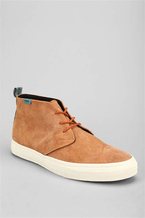 mens chukka sneaker lyst outfitters vans california decon suede mens