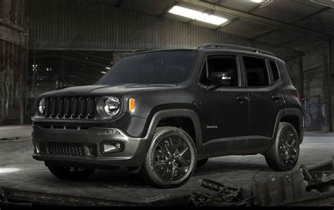 black jeep renegade fcaジャパン jeep 174 renegade black edition を発売 motor cars