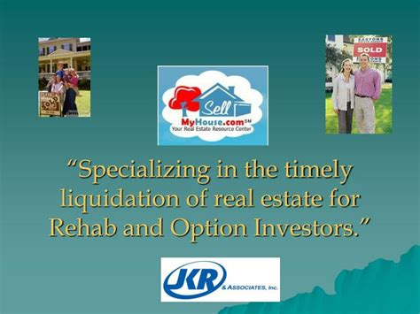 distance real estate investing how to buy rehab and manage out of state rental properties books ppt specializing in the timely liquidation of real