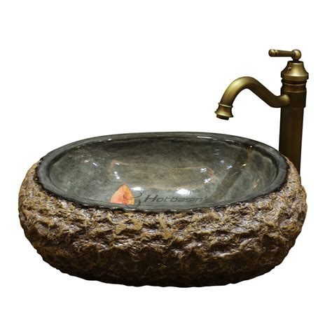 decorative bathroom sink bowls decorative oval shaped upon mount carved bowl sinks bathroom