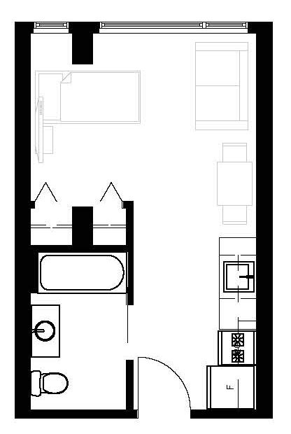 200 sq ft apartment floor plan house floor plan for 400sq ft joy studio design gallery