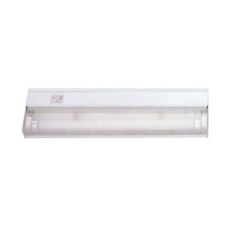 Acclaim Lighting 1 Light 12 In White Fluorescent Under Home Depot Cabinet Lights
