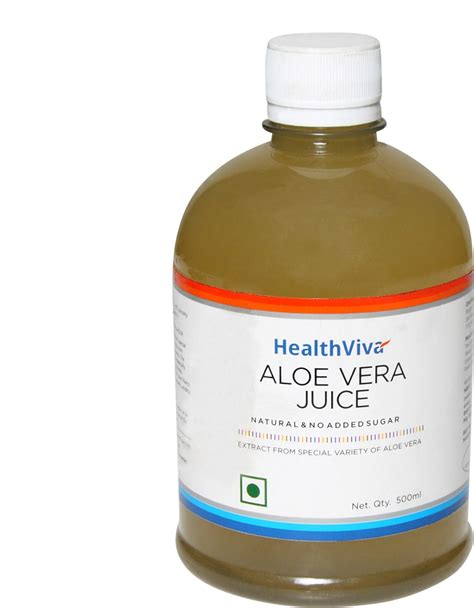 Buy Detox Drinks India by Healthviva Healthviva Aloe Vera Juice 500 Ml Price In