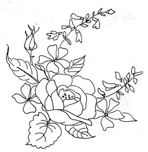 pattern drawing rose rose embroidery designs embroidery and patterns