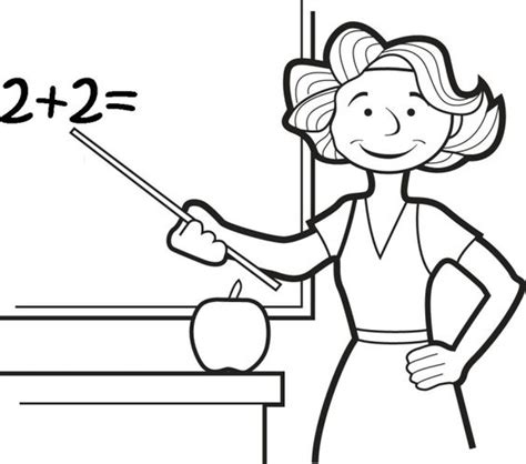printable coloring pages for your teacher teacher coloring printables education pinterest
