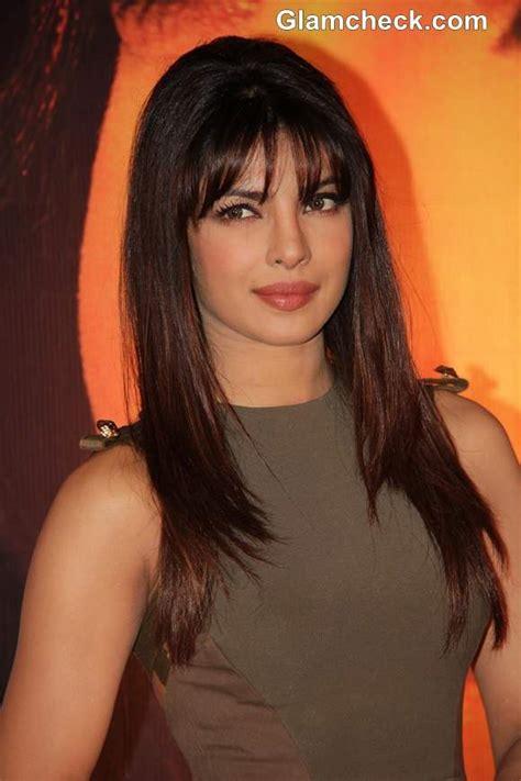Priyanka Chopra Hairstyles by Priyanka Chopra In Beckham At The Launch Of