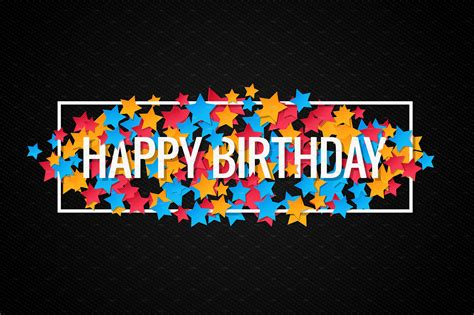 How To Make A Happy Birthday Banner Of Paper - 13 birthday banners design trends premium psd