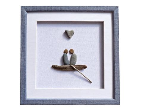 pebble art fishing boat pebble art for sale supplier india buy art frames online
