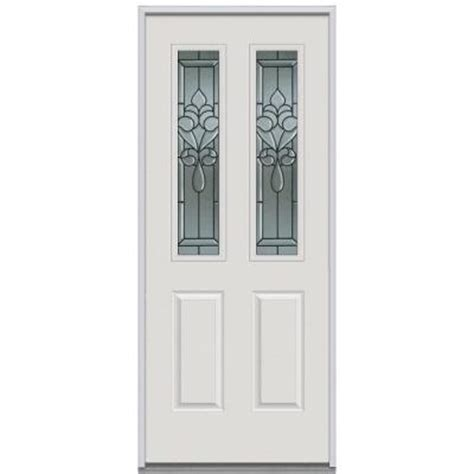 Decorative Replacement Glass For Front Door by Milliken Millwork 36 In X 80 In Fontainebleau Decorative