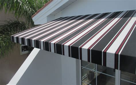fabric awnings for home fixed fabric awning residential gallery