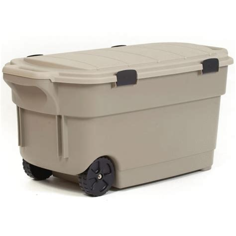 rugged storage containers marvelous shop centrex plastics llc rugged tote 45 gallon brown tote with lowes storage