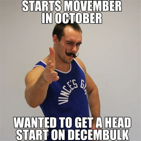 Muscle Man Meme - top 3 reasons to be excited about decembulk