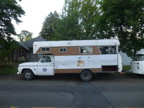 chevy motorhome curbside classic 1964 chevrolet c30 chinook class c