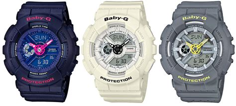 Baby G Ba 110 casio baby g ba 110pp punching pattern series g central