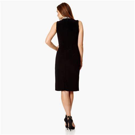 Celina Dress black celina dress by dynasty notonthehighstreet