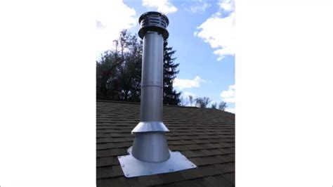 Smoke Suporter Pipe stove pipe how to install stove pipe through roof