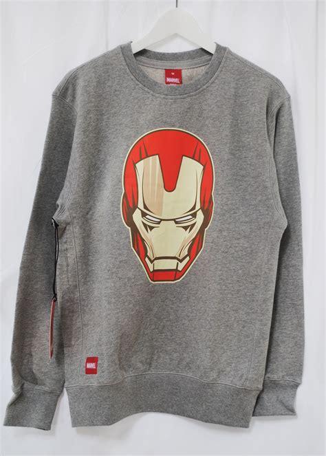 Addict Top addict marvel iron mask comic grey crew sweatshirt jumper top ebay