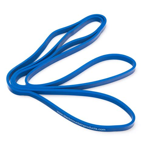 Strech Bands 1 2 quot blue strength loop resistance band black mountain products