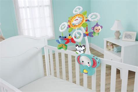 Fisher Price Rainforest Crib Mobile by Fisher Price Rainforest 2 In 1 Cot Mobile Ebay