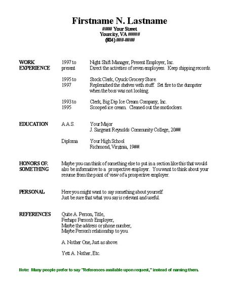 resume outline microsoft word 2010 basic resume template microsoft word 2010 templates
