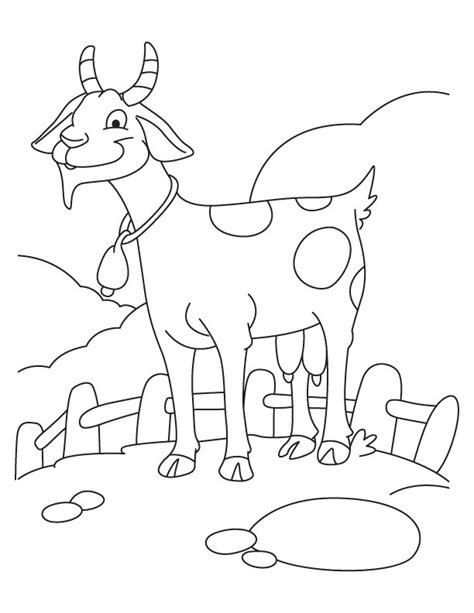 chinese goat coloring page goat coloring pages getcoloringpages com