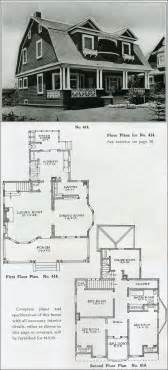 Colonial Revival House Plans by 1910 Colonial Revival The Bungalow House Henry