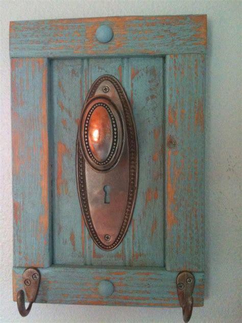 antique door knob coat rack towel or even jewelry coats