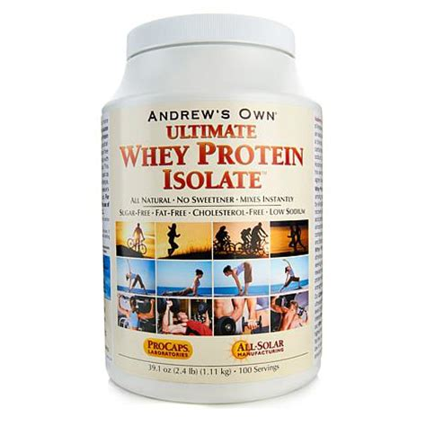 Whey Protein Isolate Ultimate Ultimate Whey Protein Isolate 100 Servings 7008868 Hsn