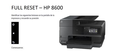Reset Hp Officejet Pro 8600 Plus | full reset hp officejet pro 8600 hazlo tu mismo taringa