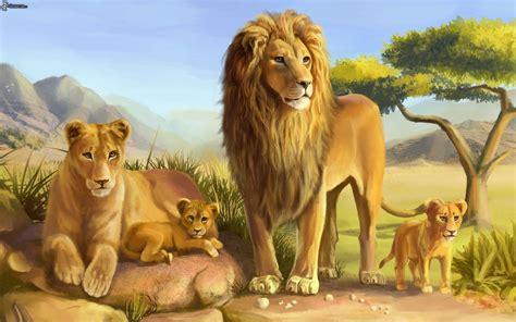 imagenes de unos leones guia uno sena