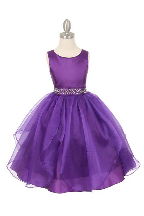 Flower Purple Dress by Purple Plum Flower Dresses