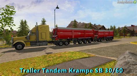 tandem kre sb 30 60 trailer mod for farming simulator trailer tandem kre sb 30 60 v1 0 for fs 17 187