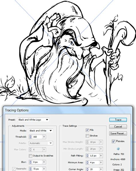 tutorial illustrator trace how to use the new image trace in adobe illustrator cs6