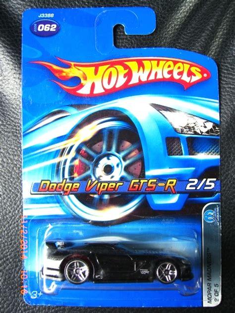Mainan Anak Mobil Diecast Wheels Srt Viper Gts R Hw Race jual wheels dodge viper gts r mopar madness 2006