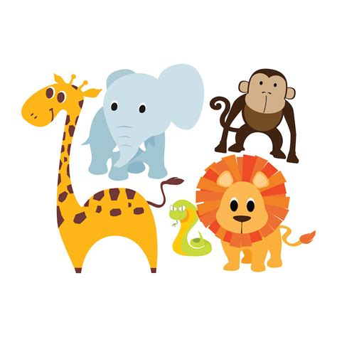 animal wall decals for nursery nursery animal wall decals thenurseries