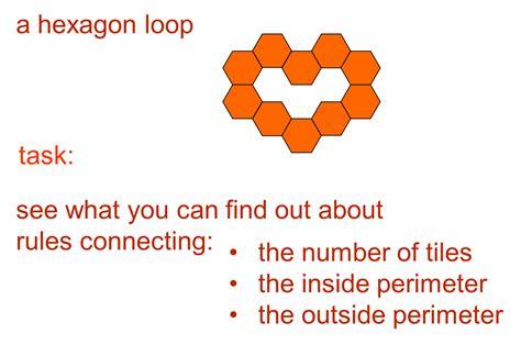 Median Don Steward Mathematics Teaching Hexagon To Rectangle - median don steward mathematics teaching regular hexagon loops