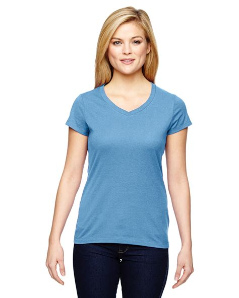 Tshirt Mhorpins 5 chion t050 tshirt womens vapor cotton sleeve v neck t shirt new ebay