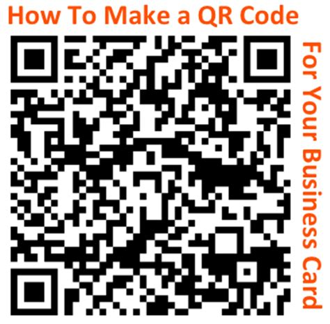 how to make a qr code business card how to make a trackable qr code for your business card