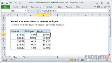 what is floor function in excel thefloors co