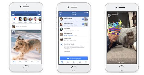 facebook  instagram  snapchat  stories feature