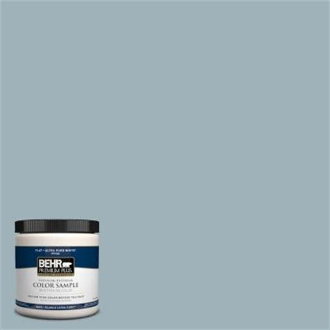 behr premium plus 8 oz 540e 3 blue fox interior exterior paint sle 540e 3pp the home depot