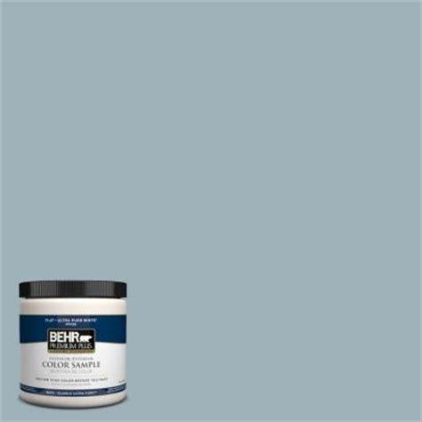 behr premium plus 8 oz 540e 3 blue fox interior exterior paint sle 540e 3pp the home depot