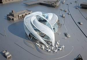 Futuristic L by Modern Architecture Futuristic Sci Fi Building In L A